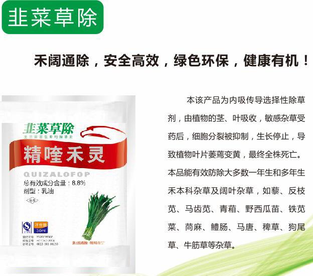 韭菜苗后专用除草剂