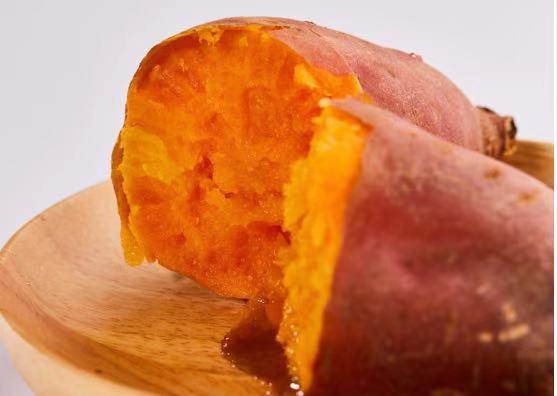 河南西瓜红红薯批发基地